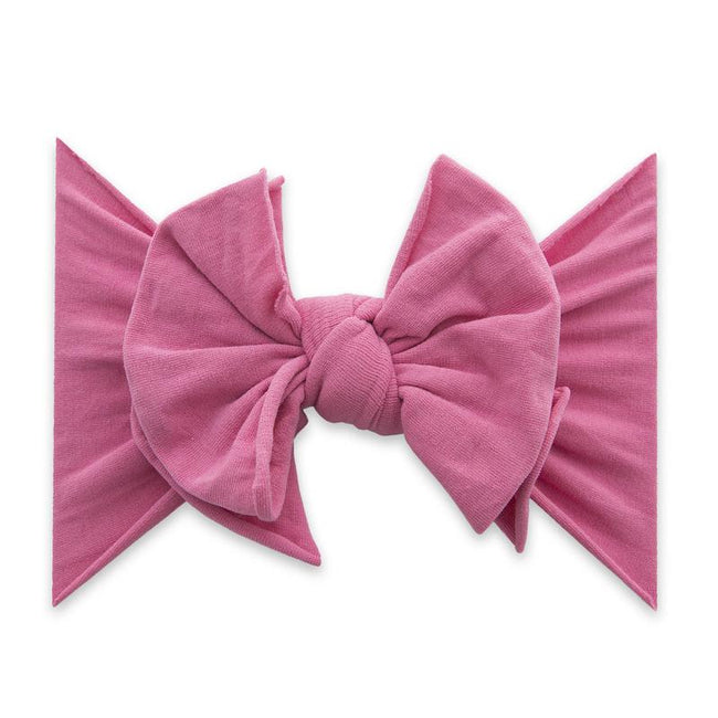 FAB-BOW-LOUS Headband - Hot Pink
