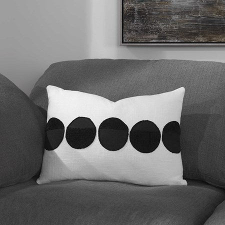 "Spots on Pillow with Insert 20"" x 14"""