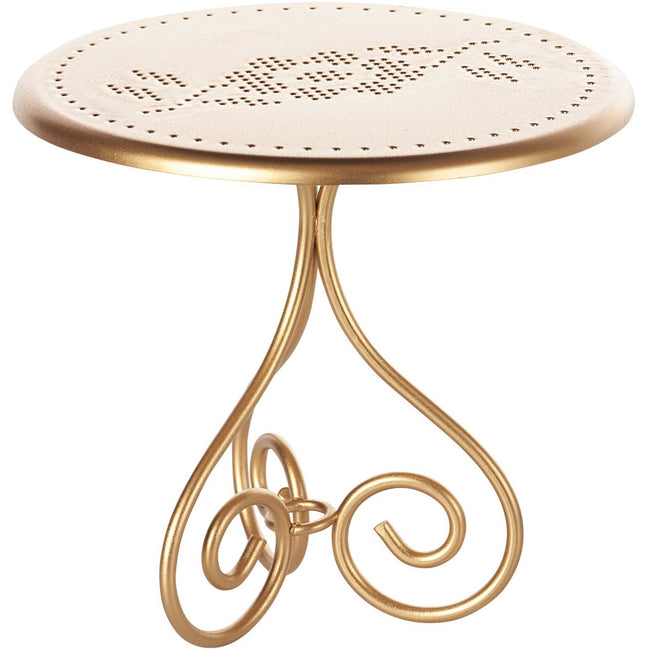 Vintage Cafe Table - Gold