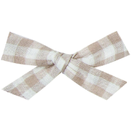 Bow Clip - Gingham