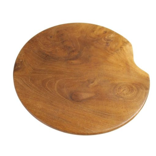 Teak Round Plate - Small