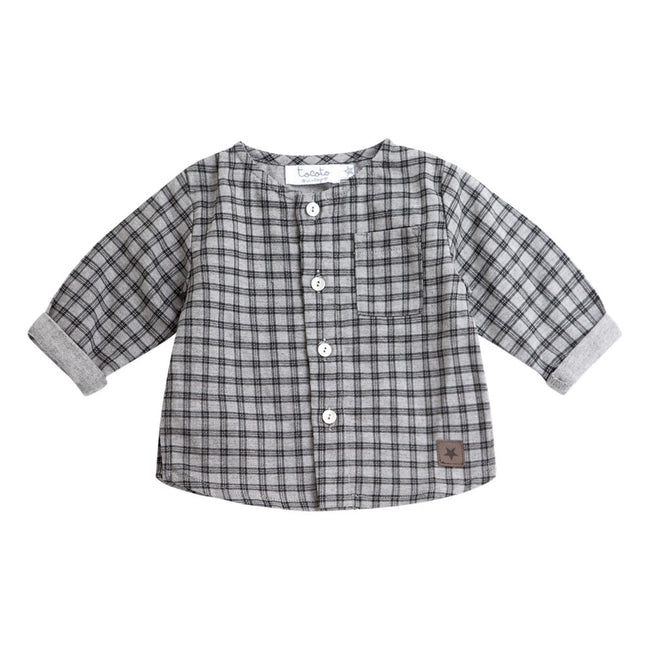 Checkered Kurta Shirt