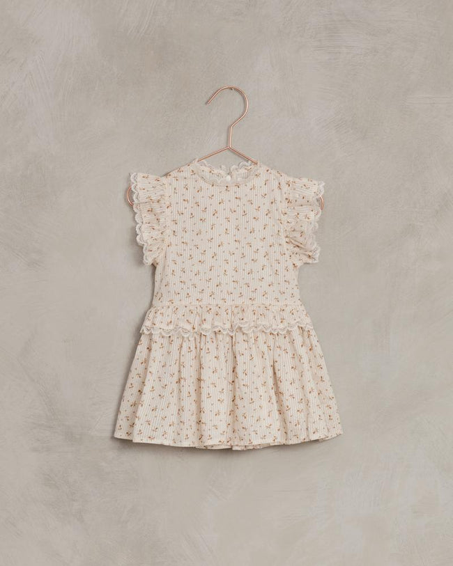Alice Dress - Gold Fleur