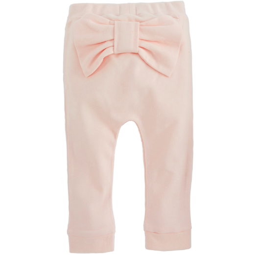 Pink Bow Pants