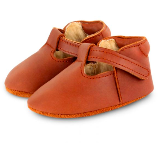 Elia Lining Flats - Cognac Classic Leather