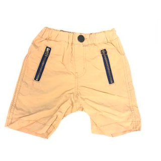 Cotton Typewriter Cloth Shorts - Beige