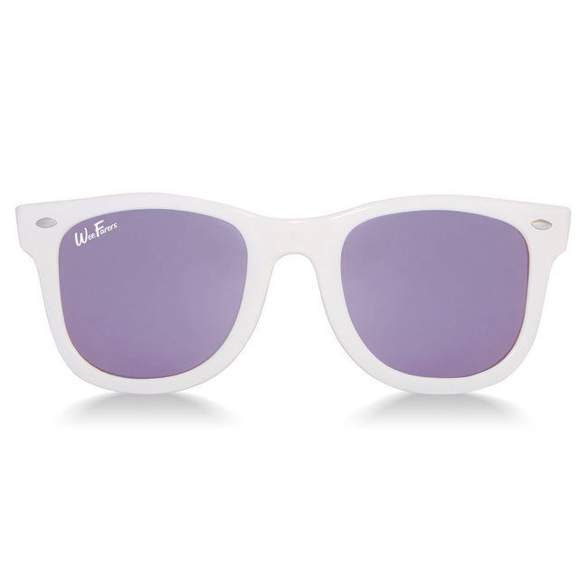 Polarized WeeFarers - White/Purple