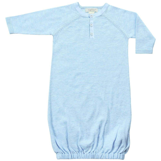 Henley Gown - Pale Blue