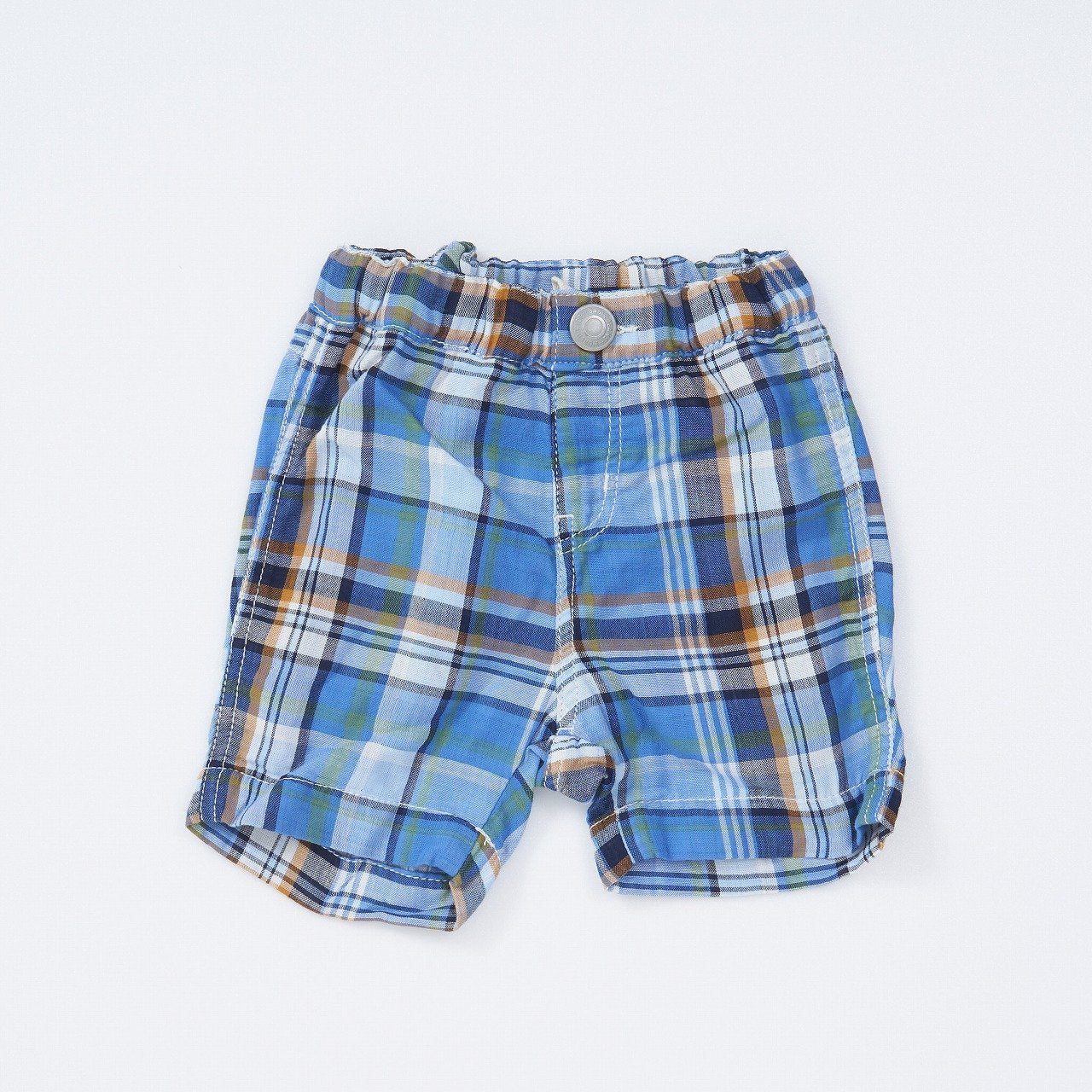 Gauze Plaid Shorts