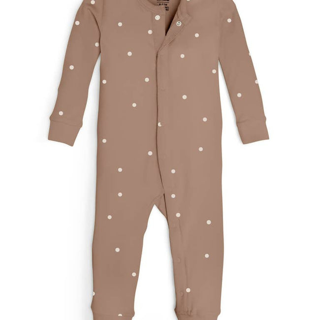 Emerson Romper - Mini Dot Print