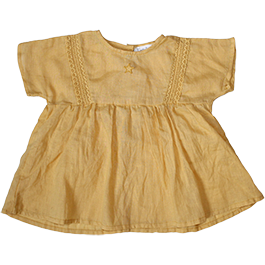 Linen Dress and Bloomer Set