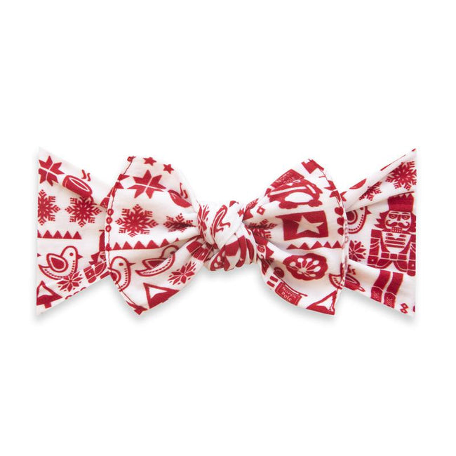 Printed Knot Headband - Nutcracker