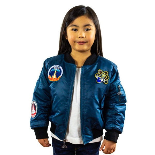 5-Patch Space Shuttle Jacket - Blue