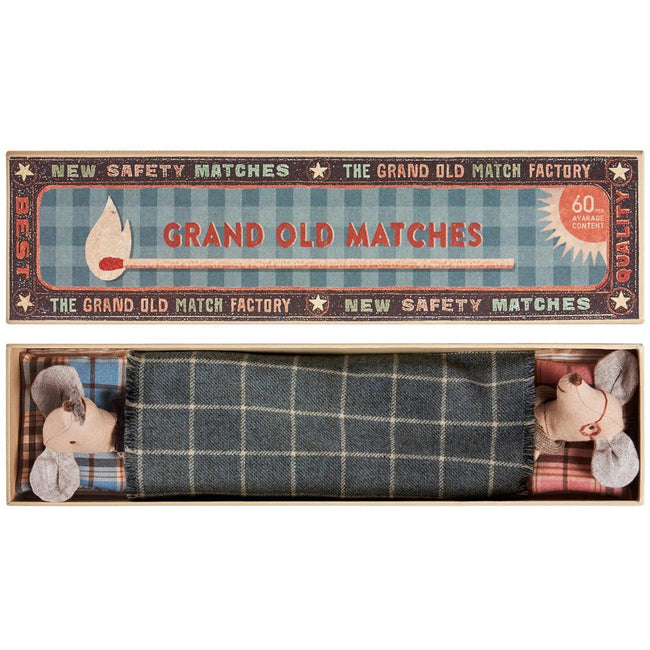 Grandma & Grandpa in Matchbox