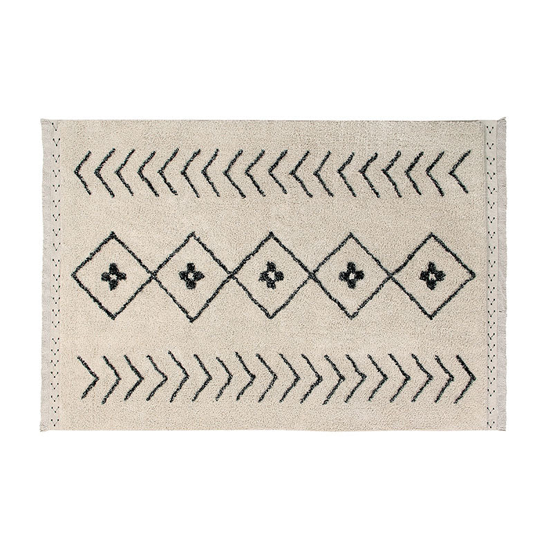 Bereber Rhombs Moroccan Washable Rug