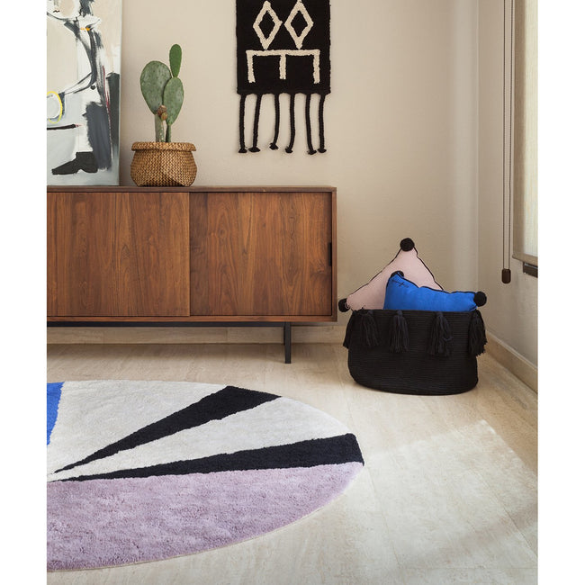 Geometric Klein Washable Rug