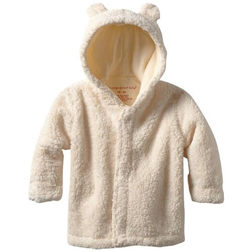 Magnetic Bears Fleece Pram - Cream