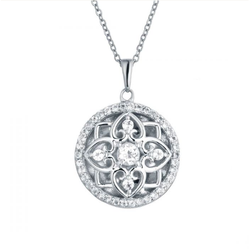 Elsie Locket Necklace - Sterling Silver