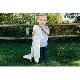 Deluxe Muslin Swaddle Blanket - Gone Fishing