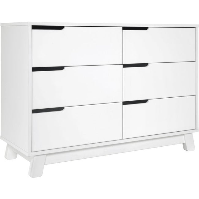 Hudson 6 Drawer Assembled Double Dresser
