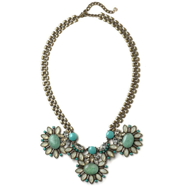 Summer Blues Statement Necklace