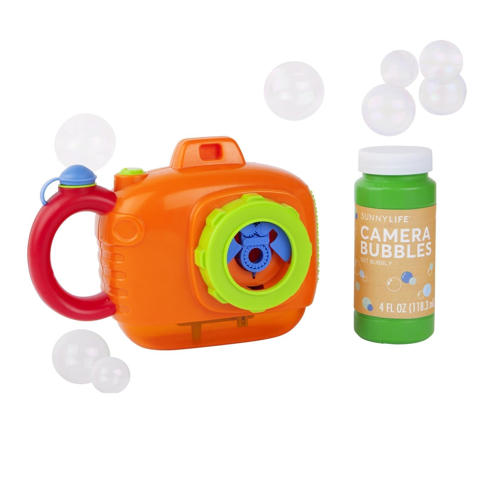 Camera Bubbles Orange