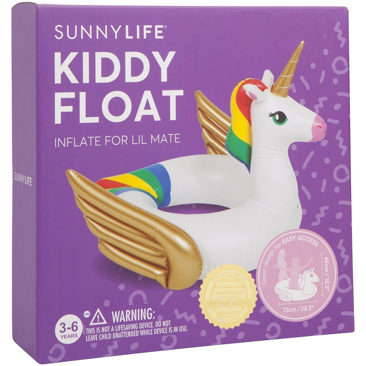 Unicorn Kiddy Float