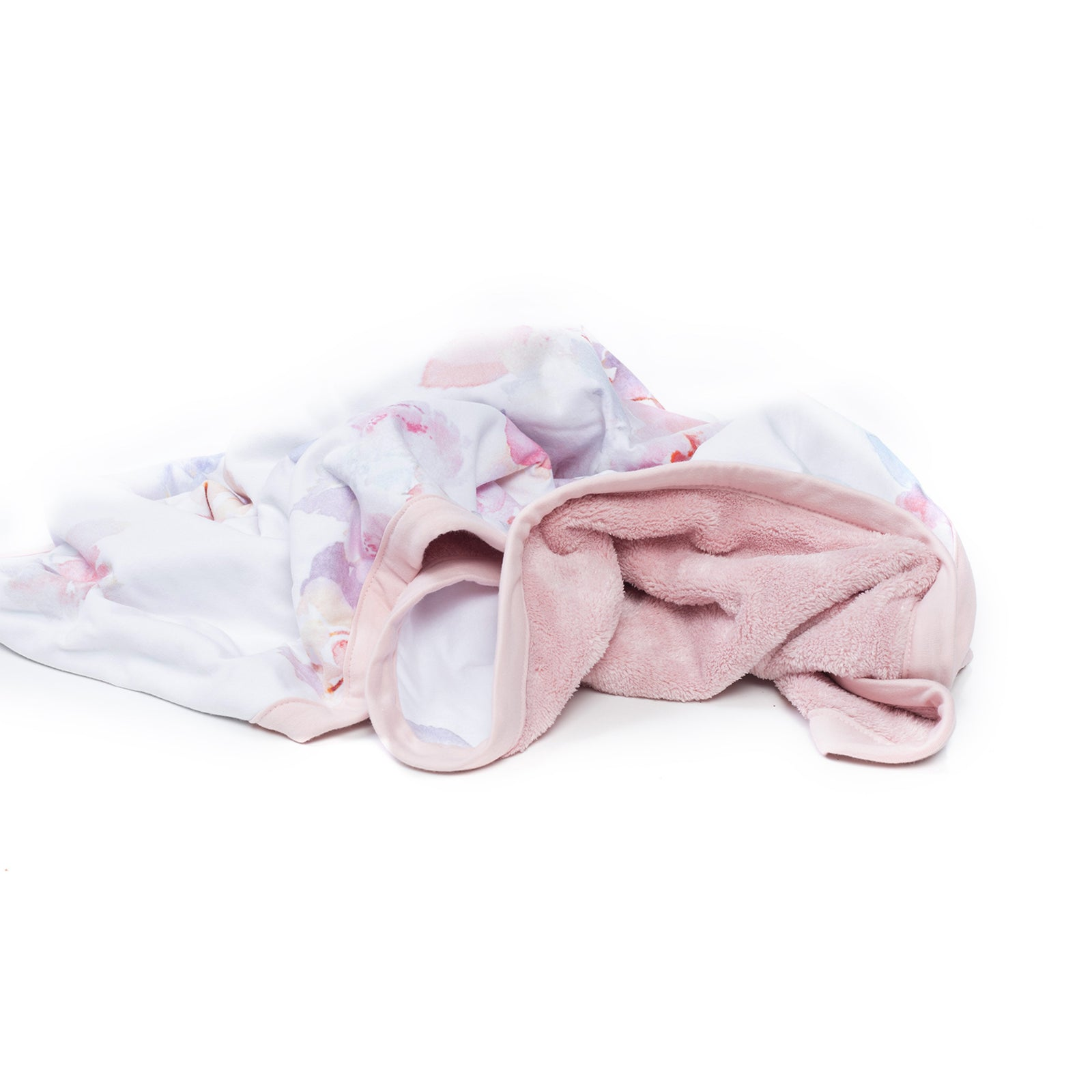 Blush Pink Prim Cuddle Blanket