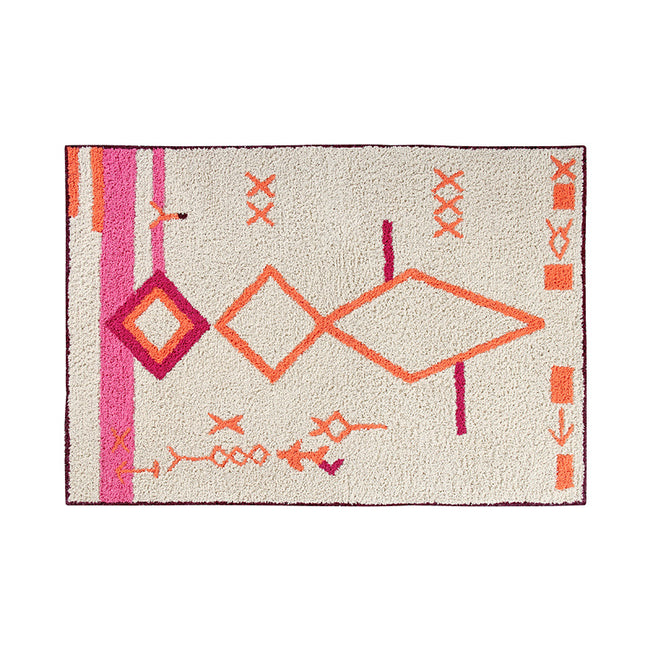 Saffi Orange/Pink Washable Rug