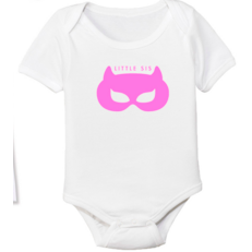 Superhero Little Sis Onesie