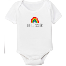 Rainbow Little Sis Onesie
