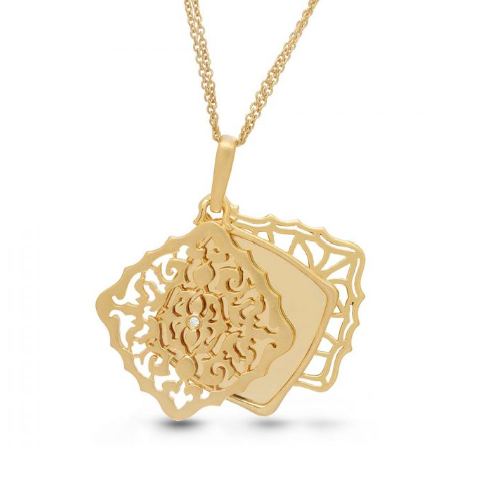 Mimi Locket Necklace - Yellow Gold