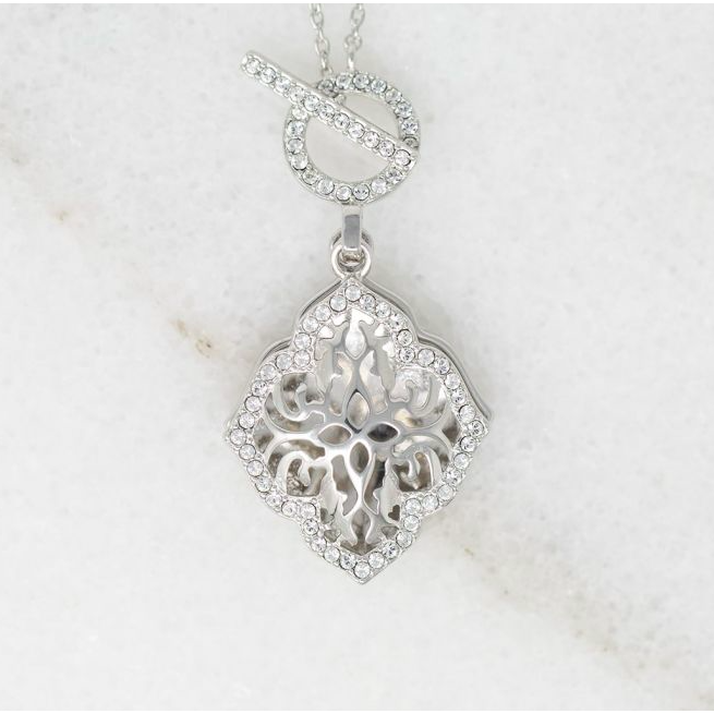 Katarina Locket Necklace - Sterling Silver