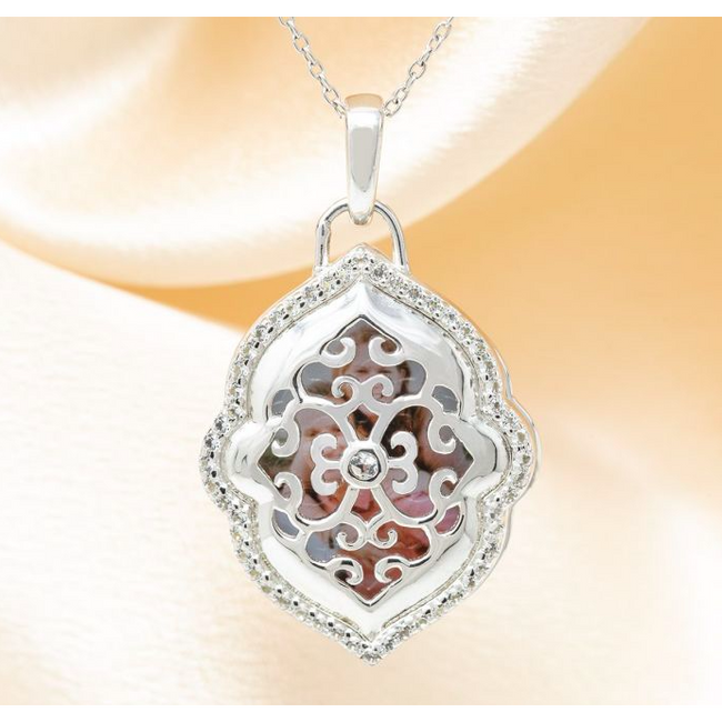 Maggie Locket Necklace - Sterling Silver