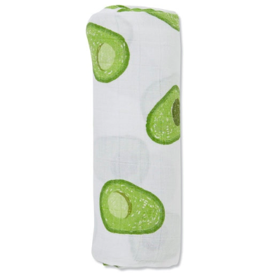 Muslin Swaddle Blanket - Avocado