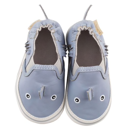Sebastian Soft Sole Shoes - Blue Shark