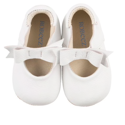 Sofia Soft Sole Shoes - White
