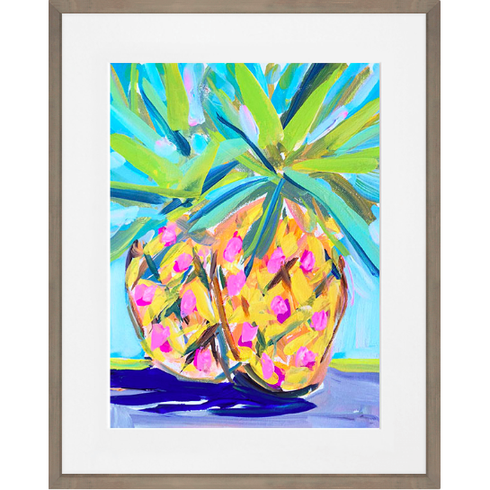 Abstract Pineapples Wall Art