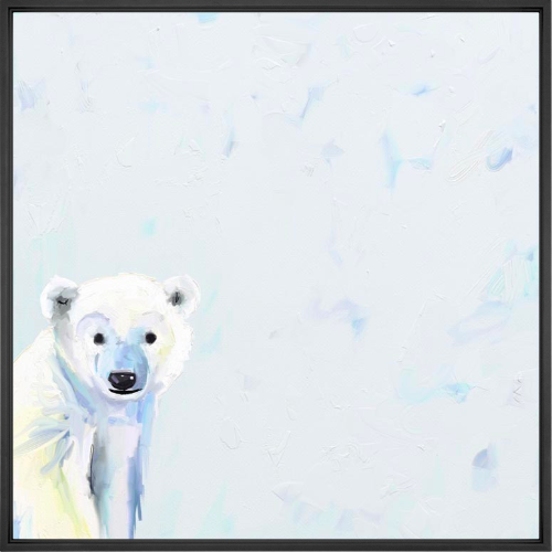 Baby Polar Bear Wall Art
