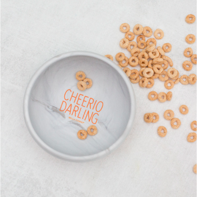 Suction Bowl - Cheerio Darling