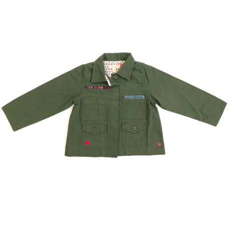 Army Jacket - Four Leaf Clover