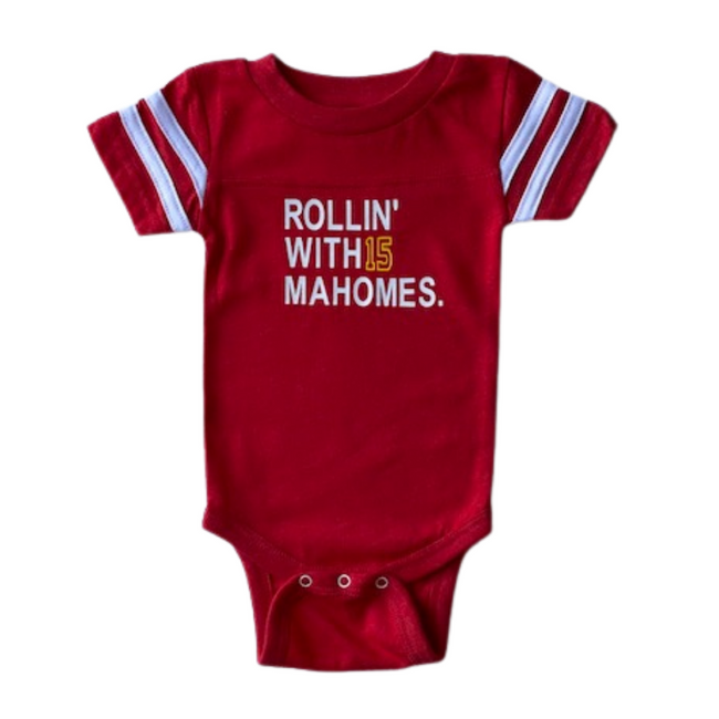 Rollin' with Mahomes Onesie