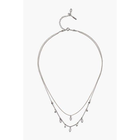 Roxy Locket Necklace - Sterling Silver