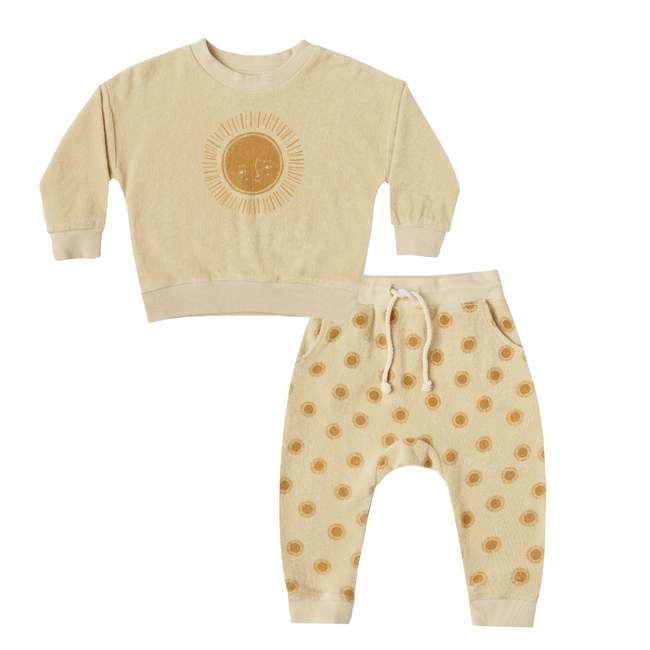 Sun Crew Neck & Sweatpant Set