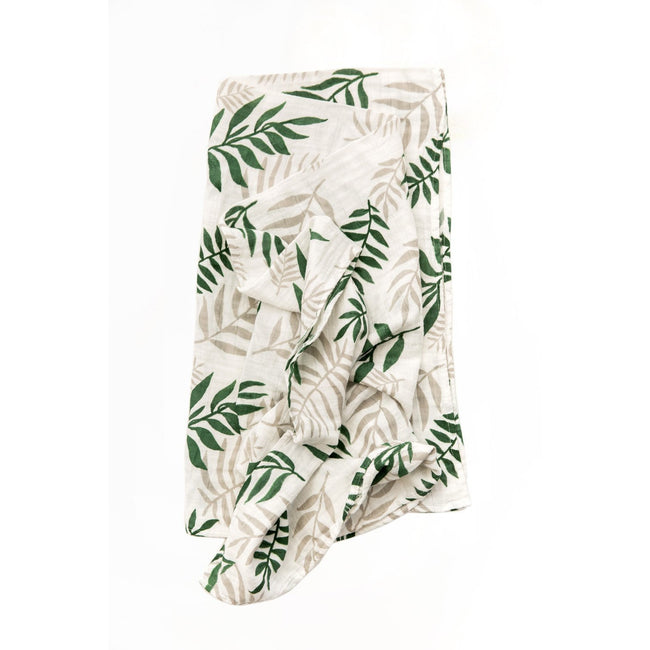 Jungle Fern Swaddle Blanket