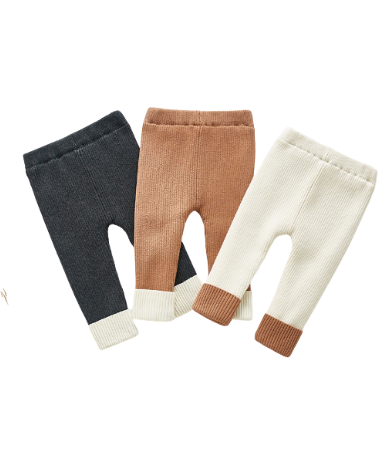 Fleece Lined Leggings - Ivory