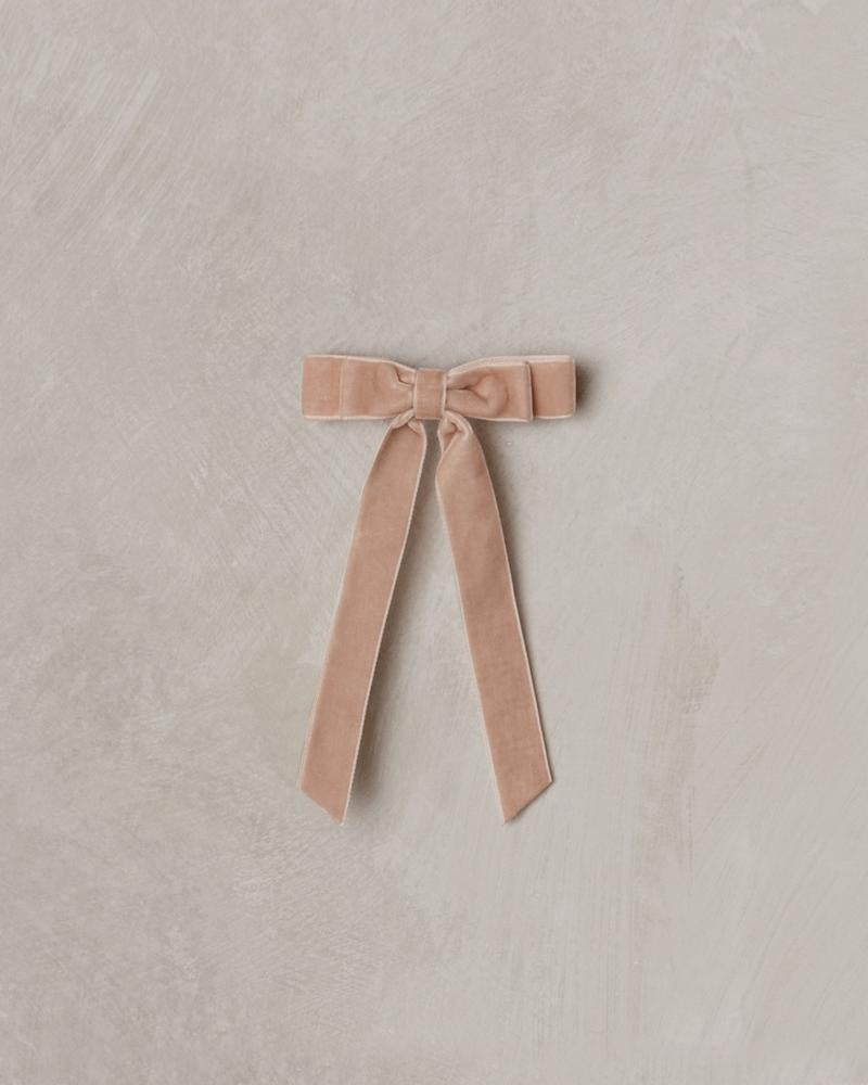 Velvet Bow - Dusty Rose