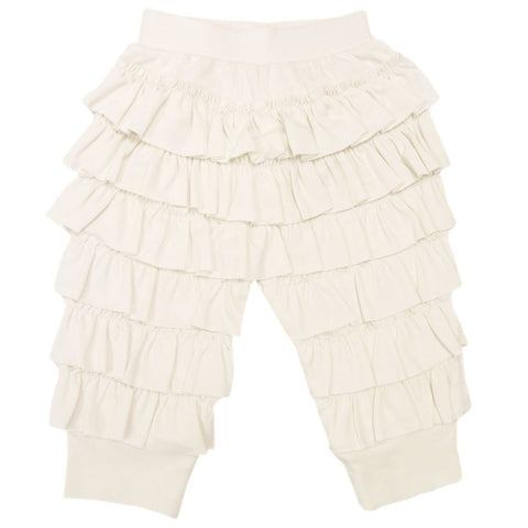 Lace Ruffle Diaper Cover - Sage