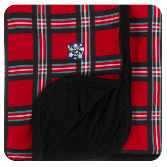 Print Swaddle Blanket - Christmas Plaid