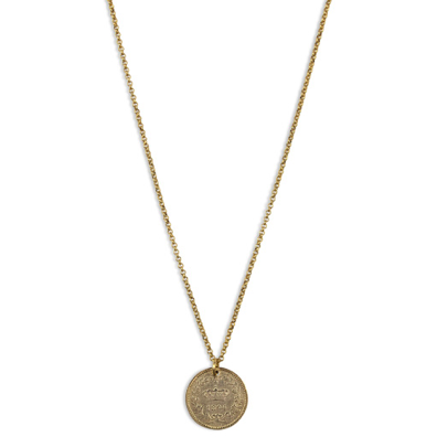 Fortune Coin Necklace - Gold